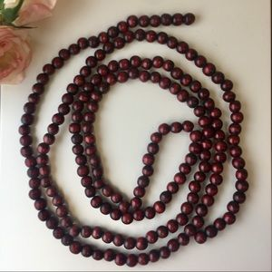Countrycore Cottagecore Wooden Bead Strand Garland